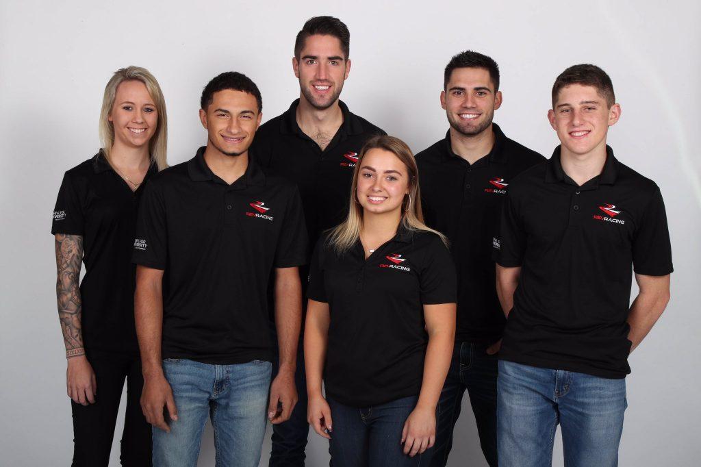 Участники программы развития молодых гонщиков