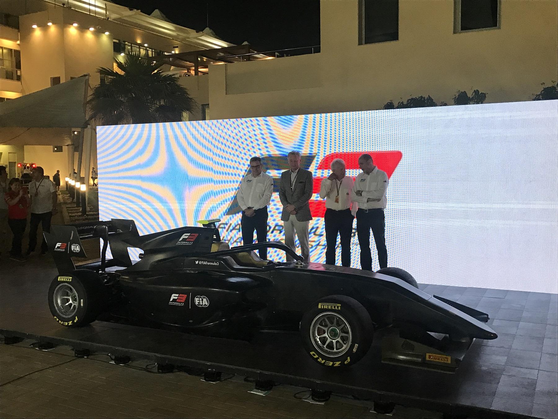 Презентация автомобиля международной Ф3