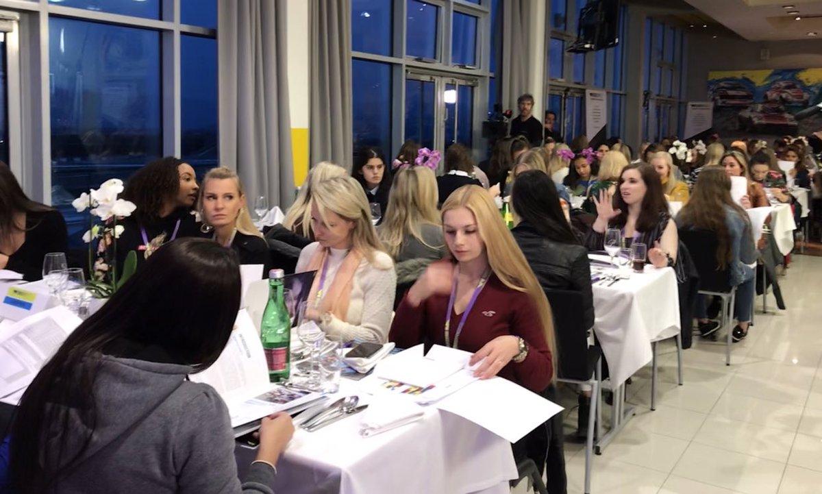 """Участницы """"Женской формулы"""" в первый день отбора в Австрии"""