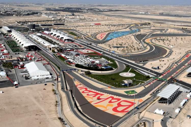 Трасса в Бахрейне