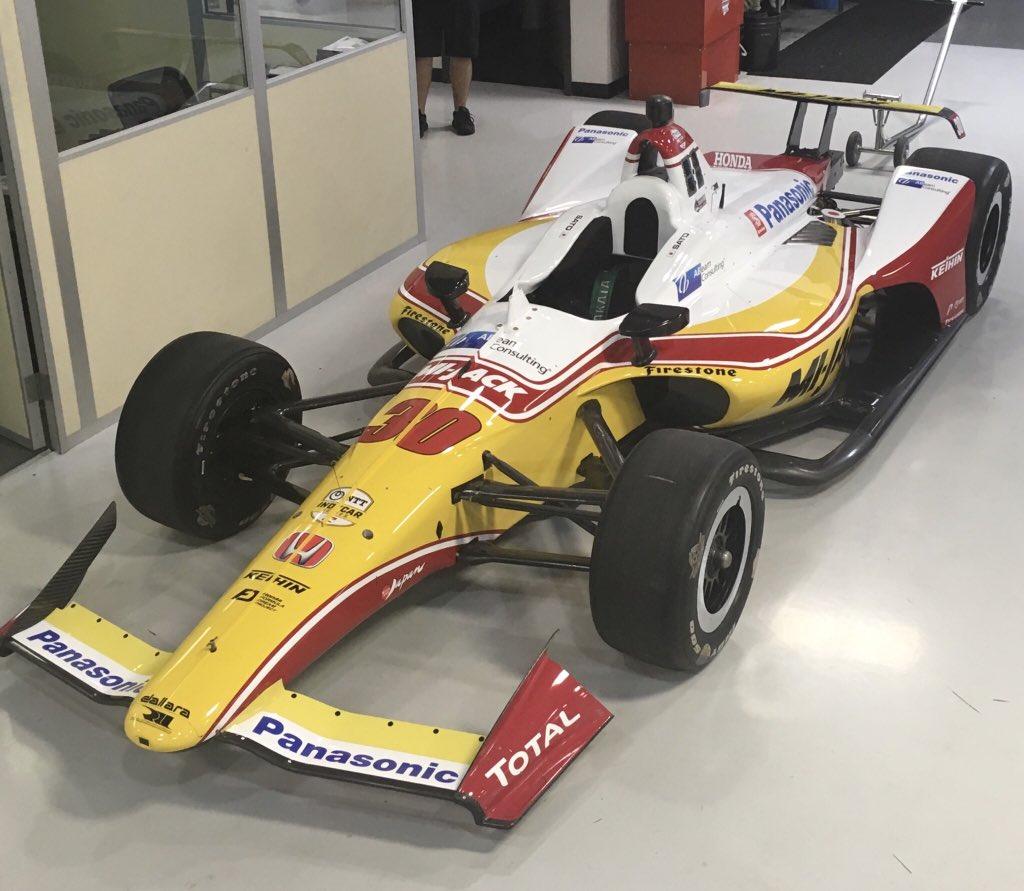Автомобиль Такума Сато