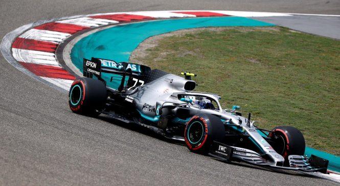 Боттас выиграл квалификацию к Гран-при Китая. Квят – 11-й