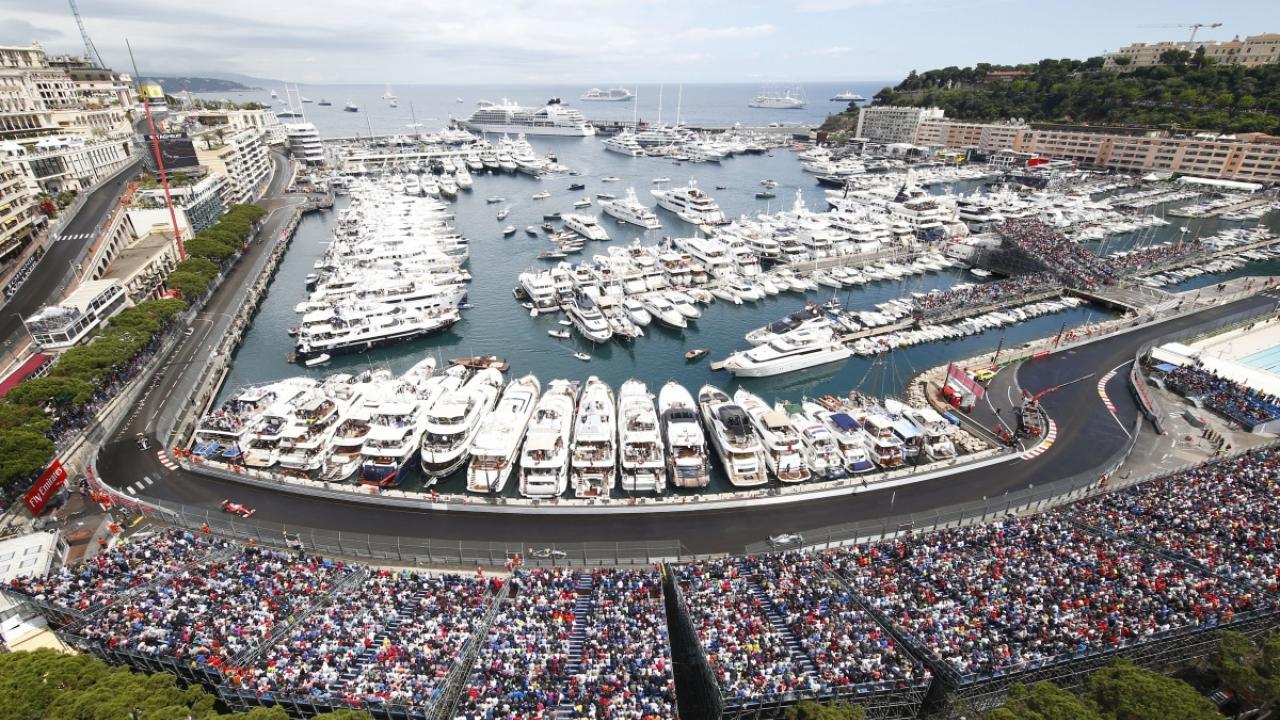 Трасса в Монако