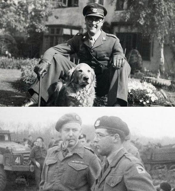 """Капитан Марри Уокер, командир танка """"Шерман"""", в 1944-м"""