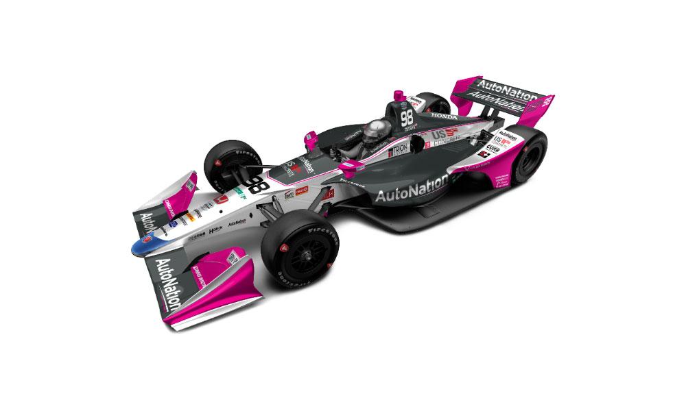 Автомобиль Марко Андретти для Гран-при Детройта