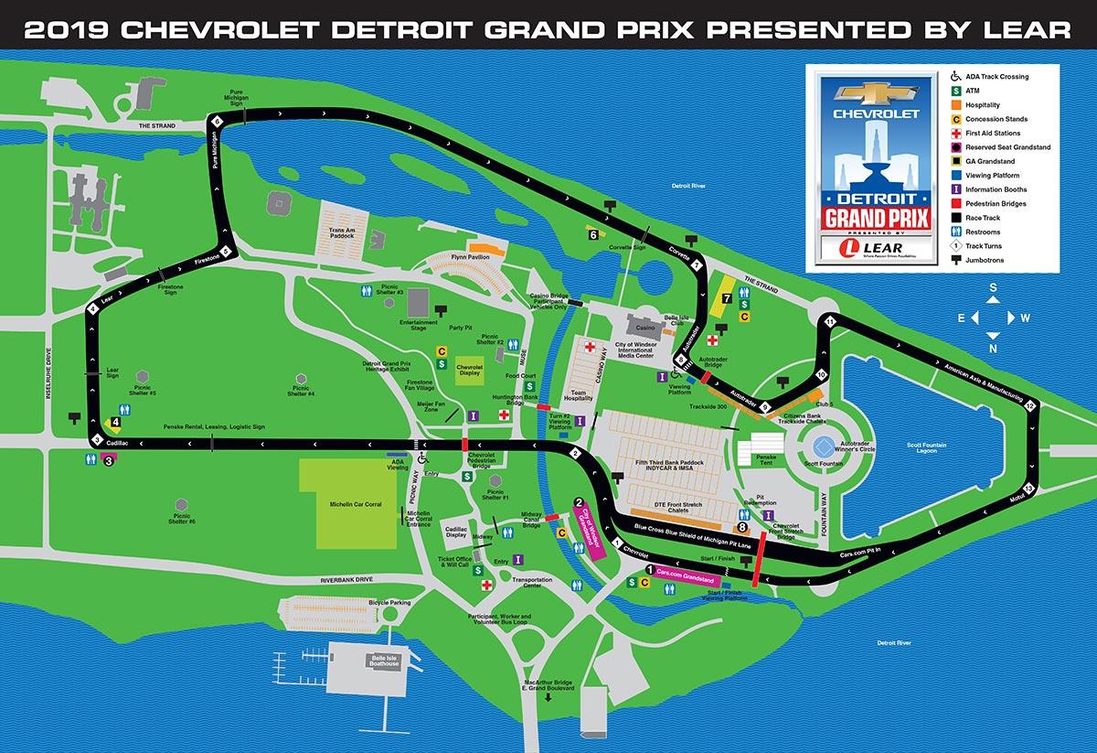 Трасса Гран-при Детройта
