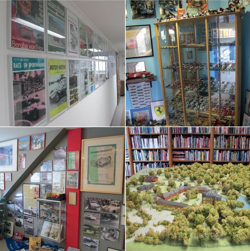Экспозиции музея памяти Вольфганга фон Трипса