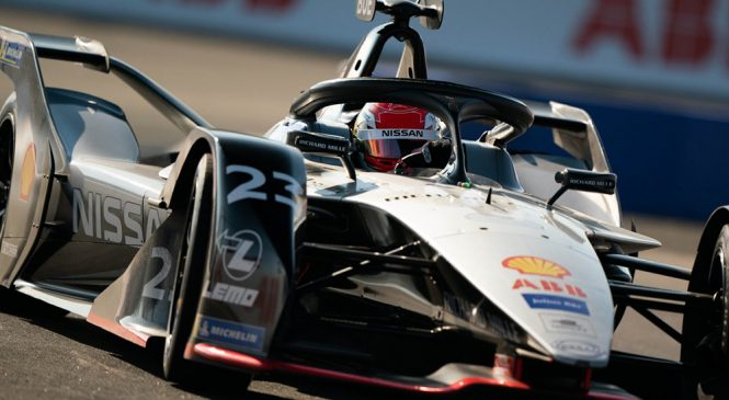 """Буэми будет стартовать с поула в первой гонке финала сезона """"Формула-Е"""" в Нью-Йорке"""