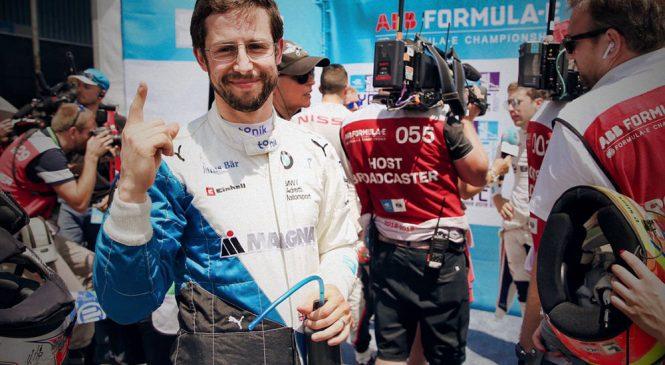 Симс завоевал поул к последней гонке электроформул в сезоне, Буэми лишился шансов на титул