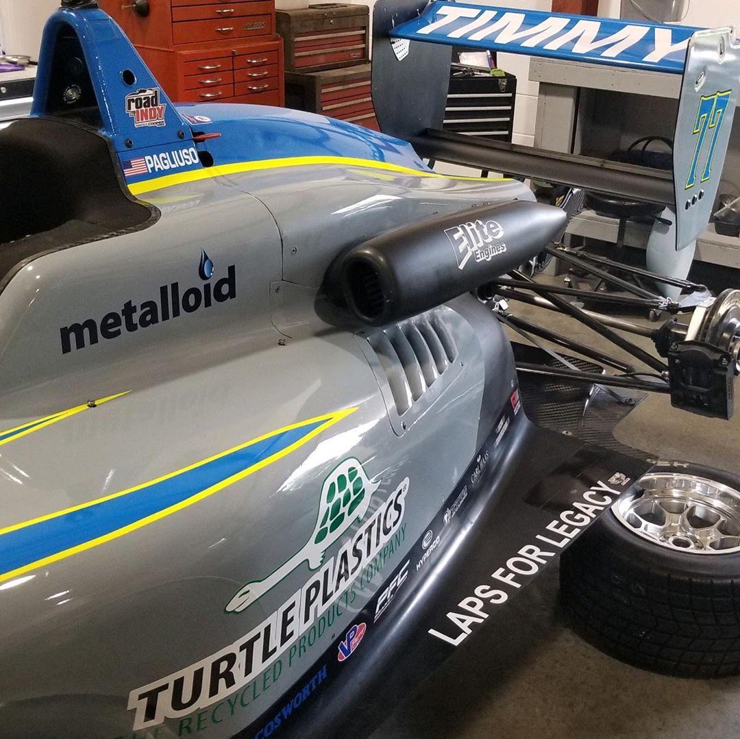 Автомобиль Тимми Пальиусо для Мид-Огайо