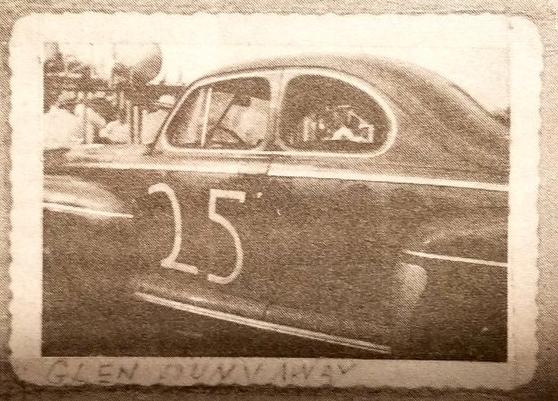 Автомобиль Гленна Даннавея в Шарлотте