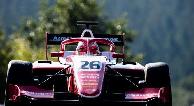 Армстронг выиграл вторую гонку Ф3 в Спа, Шварцман финишировал третьим