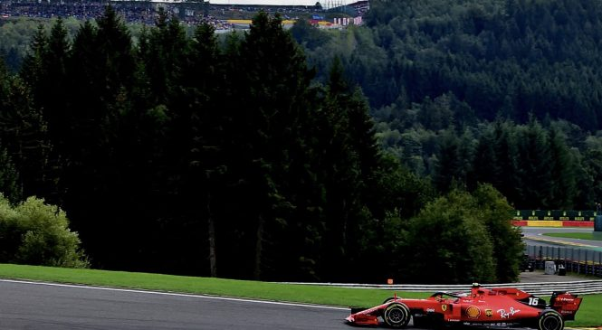 Шарль Леклер выиграл Гран-при Бельгии 2019 года, Квят – седьмой