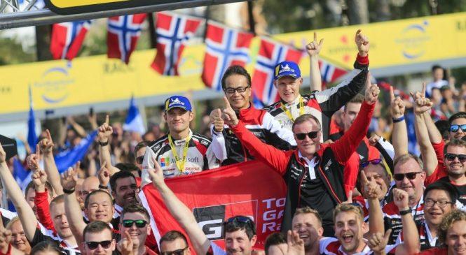 Отт Тянак оформил титул чемпиона мира, Нёвилль выиграл в Испании