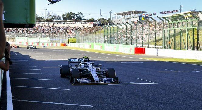 Итоги Гран-при Японии засчитали по 52-му кругу