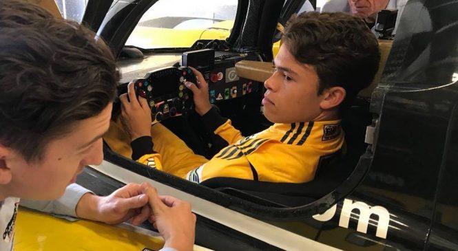 """Де Врис примет участие в молодежных тестах ВЕК в Бахрейне за рулём """"Тойоты"""""""