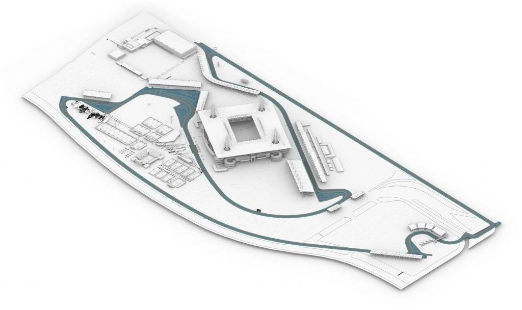 Проект трассы для гонки Ф1 в Майами
