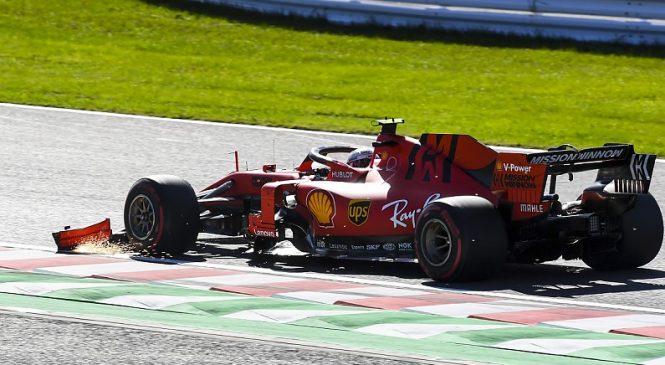 Леклер получил штраф в 15 секунд по итогам Гран-при Японии