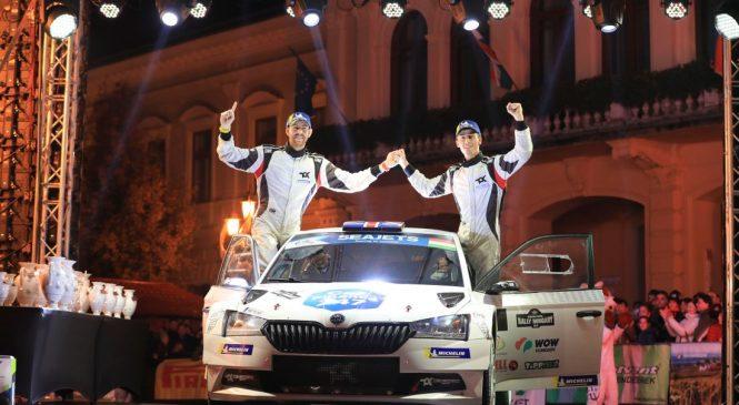 Крис Инграм стал чемпионом Европы по ралли