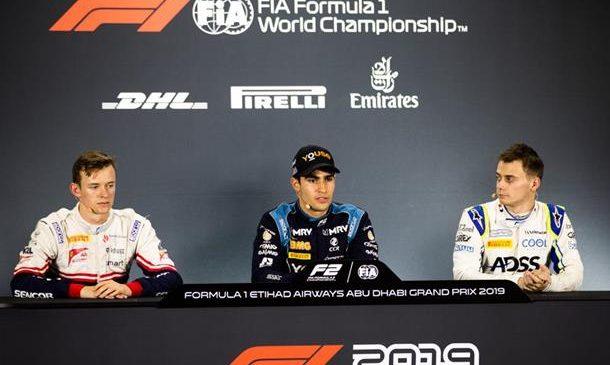 """Камара: Я бы не хотел оказаться пятым в конце сезона. Пресс-конференция первой тройки по итогам квалификации """"Формулы-2"""" в Абу-Даби"""