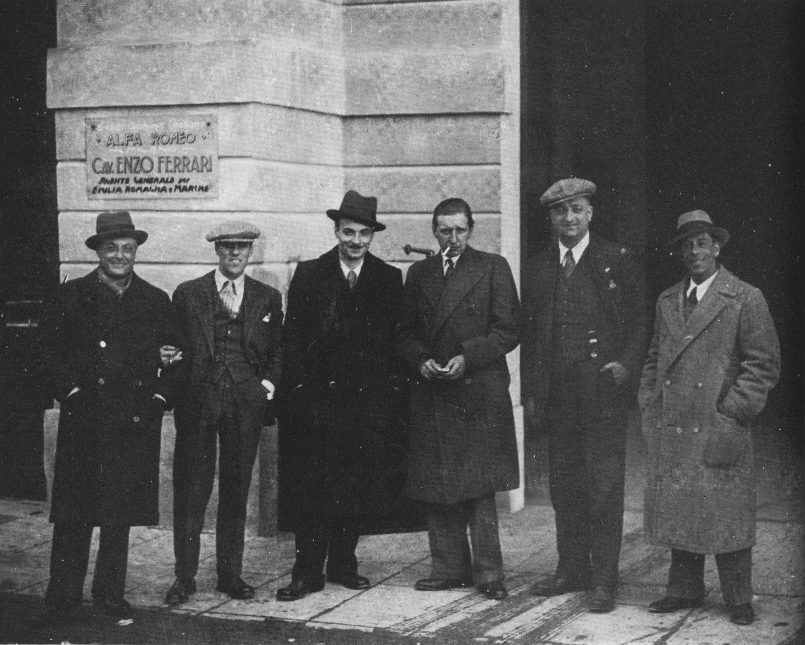 """Скудерия Феррари"" в 1932 году"