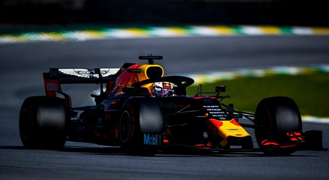 Макс Верстаппен выиграл Гран-при Бразилии 2019 года, Гасли на подиуме, Квят – 10-й
