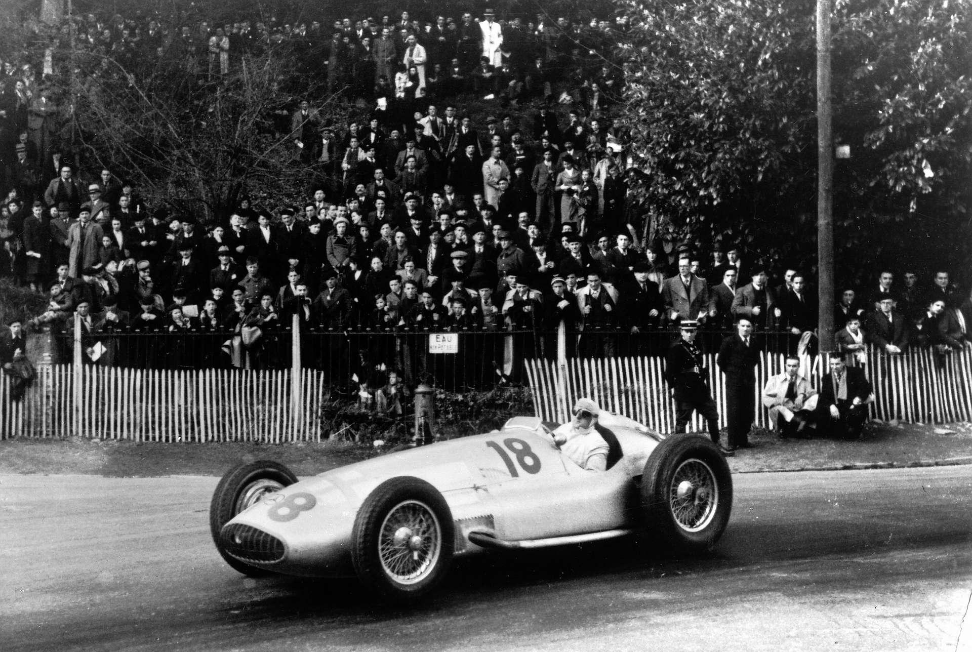 Герман Ланг на Гран-при По 1939 года