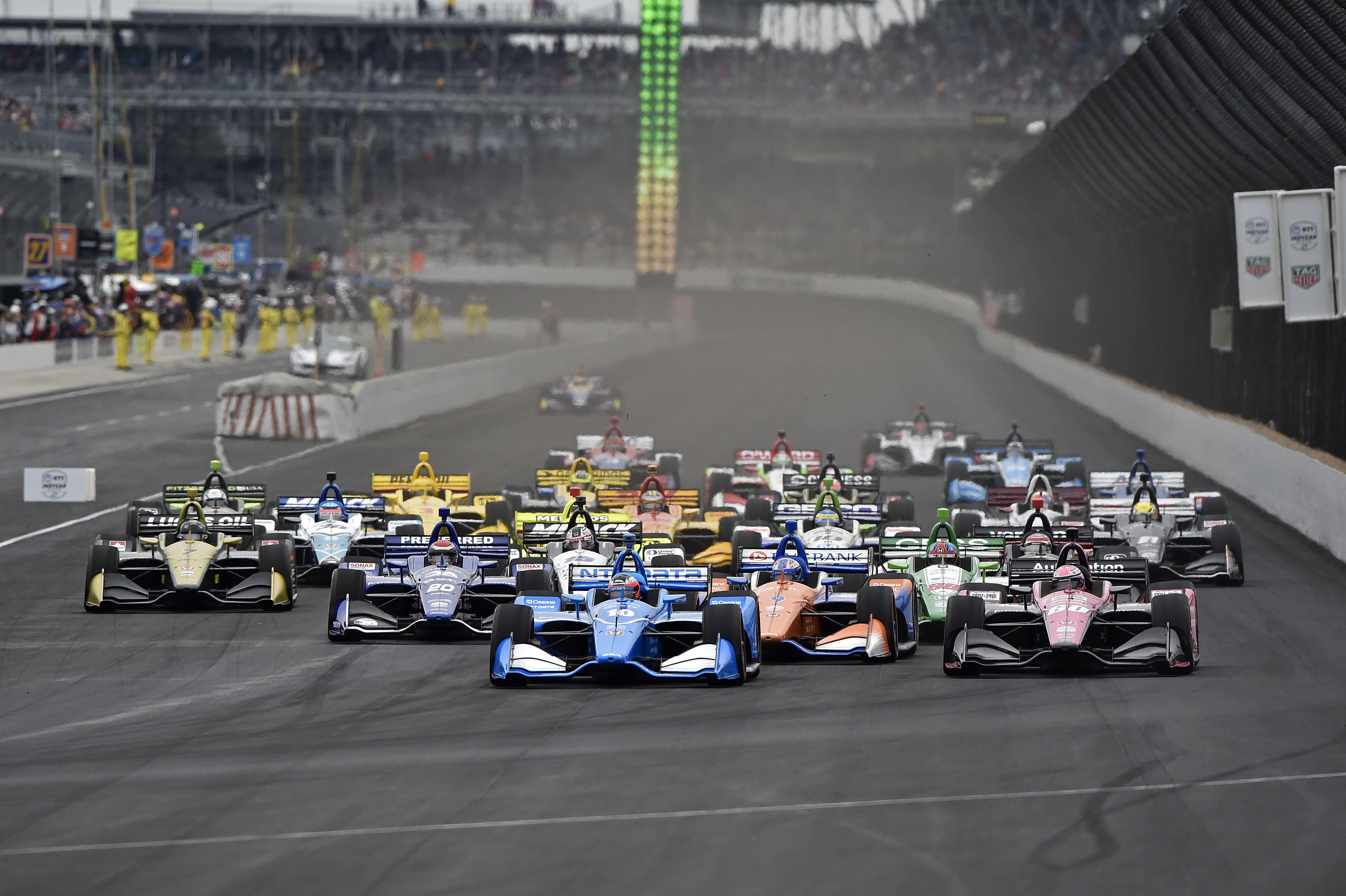 Старт Гран-при Индианаполиса 2019 года