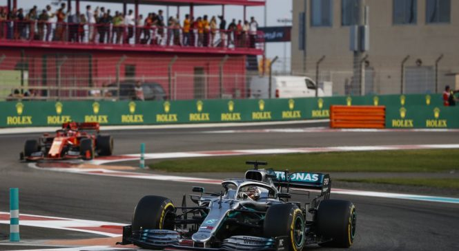 Льюис Хэмилтон выиграл Гран-при Абу-Даби 2019 года, Квят – девятый