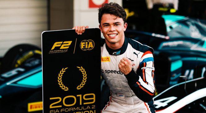 """Де Врис о титуле в """"Формуле-2"""": Думаю, я кое-что доказал автоспортивному миру"""