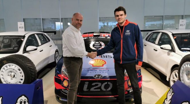 """Николай Грязин выступит в WRC-2 за команду """"Хёндэ"""""""