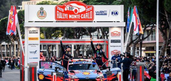Тьерри Нёвилль выиграл Ралли Монте-Карло, Тянак сошёл c дистанции