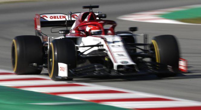 Кубица стал быстрейшим в первый день вторых тестов в Барселоне, Квят четвёртый