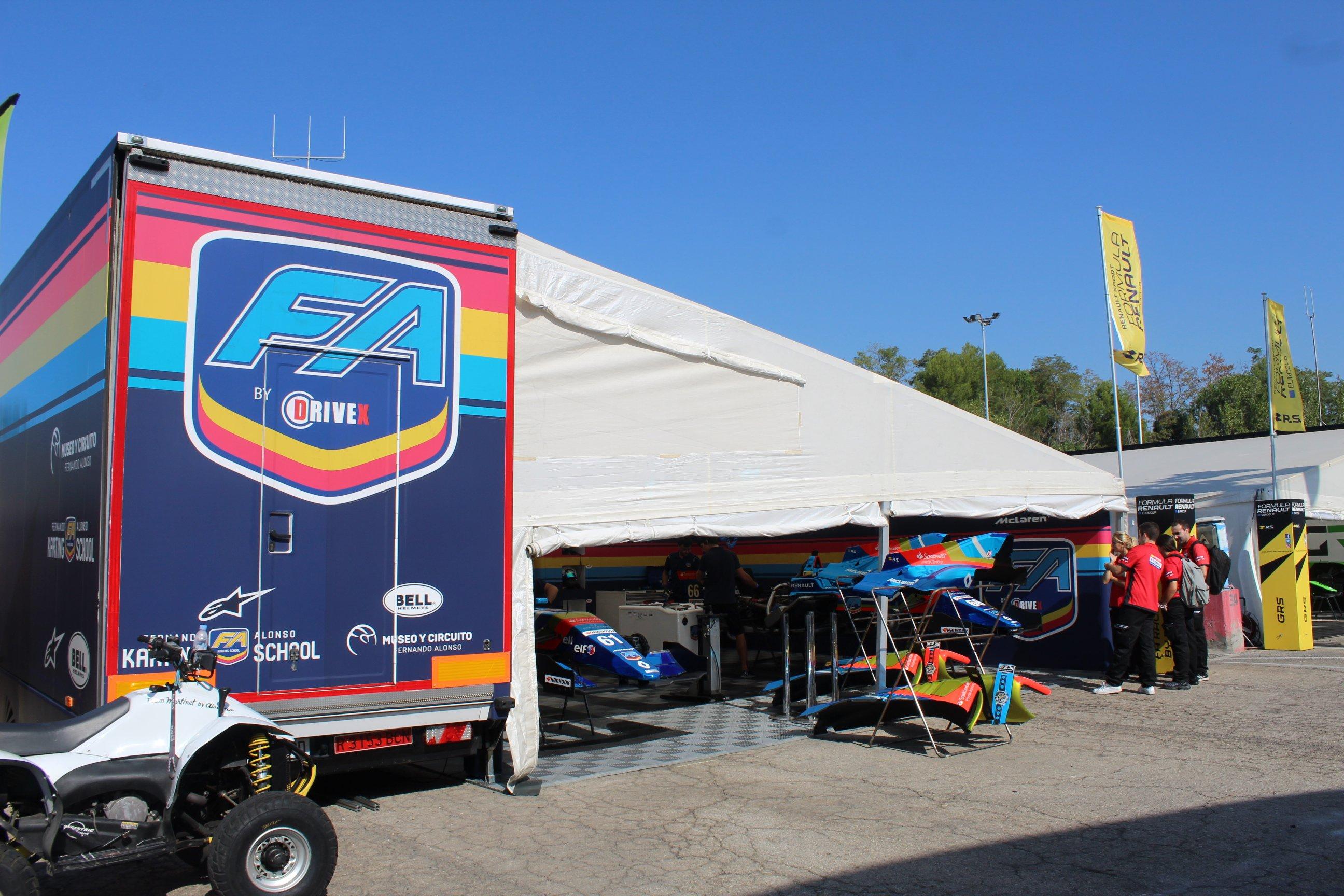 """ФА Рэйсинг"" на гонке Еврокубка Формулы Рено в Барселоне"