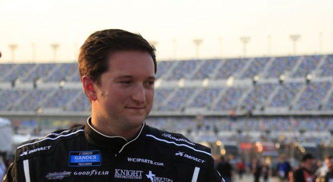 Джордан Андерсон остался доволен вторым местом в гонке пикапов в Дейтоне