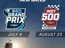 """Гран-при Индианаполиса перенесён на июль, а """"Инди-500"""" – на август"""