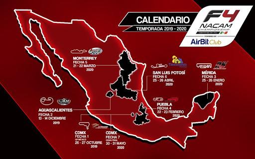 Календарь мексиканской Ф4 2019/2020