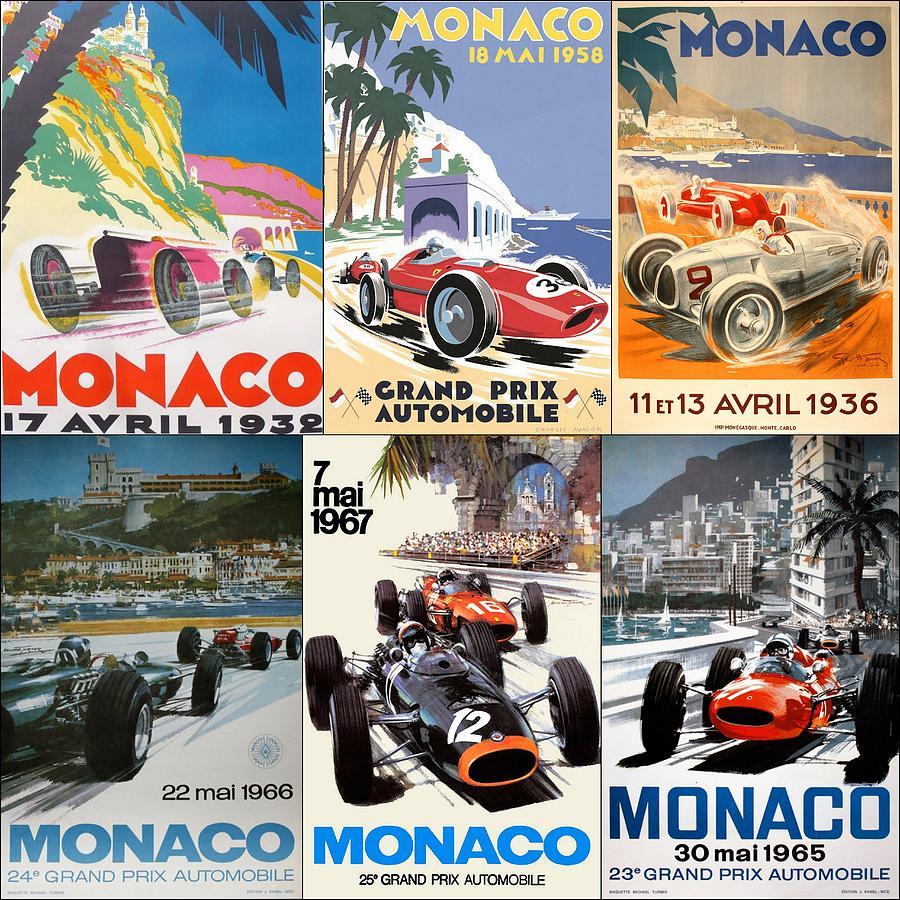 Постеры БП Монако