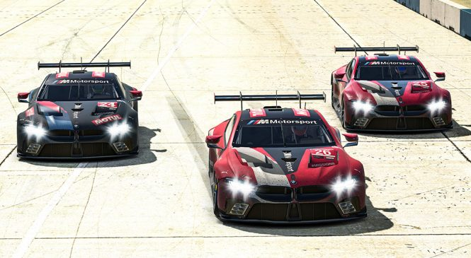 Спенглер выиграл виртуальную гонку ИМСА в Сибринге, гонщики БМВ заняли весь топ-3