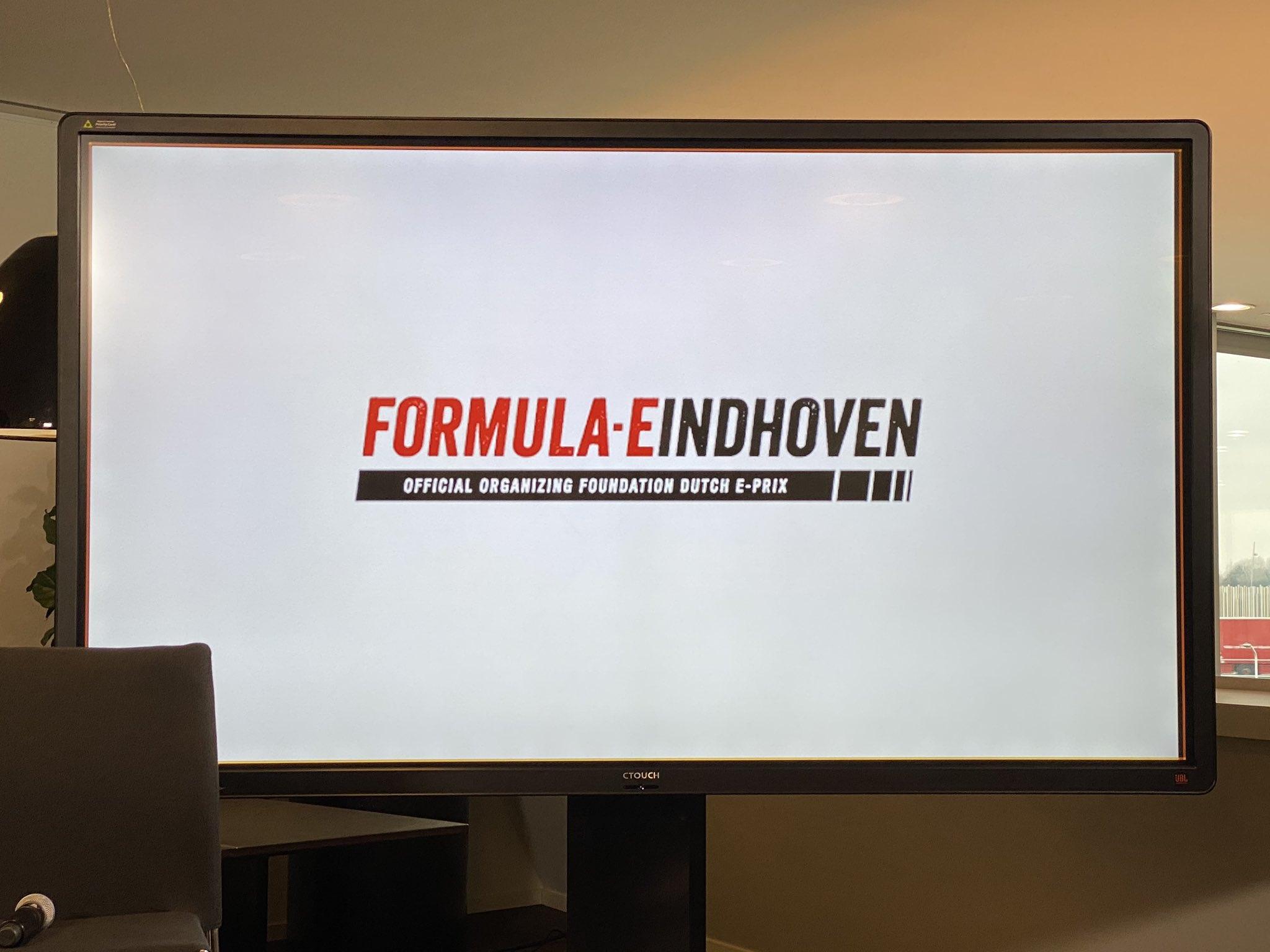 Слайд-анонс гонки ФЕ в Нидерландах
