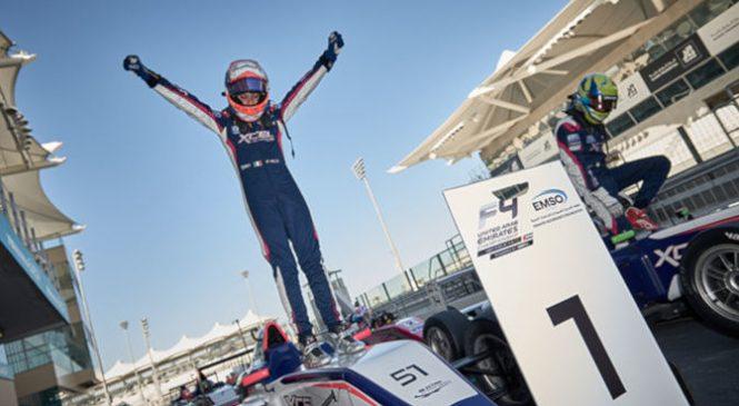 Франческо Пицци – чемпион арабской Ф4