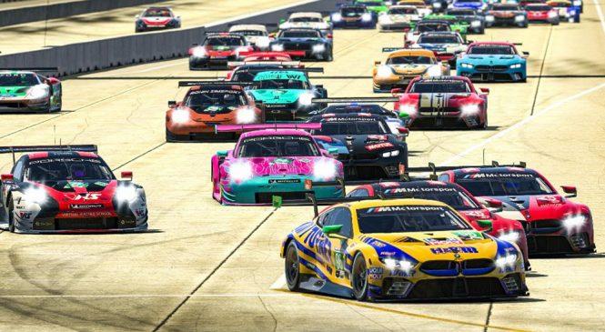 ИМСА проведет виртуальный чемпионат ГТЛМ из шести этапов