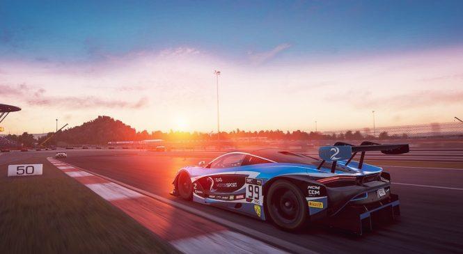 """Барникот опередил Делетраза на 0.070 с. на финише виртуальной гонки ГТ3 на """"Нюрбургринге"""""""