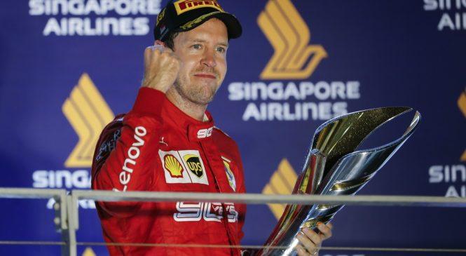 Один из самых успешных гонщиков в истории Ф1. Да, это Феттель
