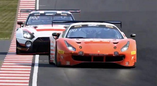 Дэвид Перел выиграл финальную виртуальную гонку американской серии ГТ