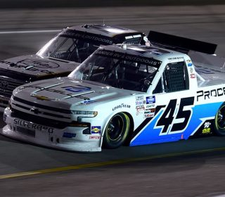 Тревор Бэйн не добился победы в гонках дивизиона пикапов, но стал одним из открытий сезона