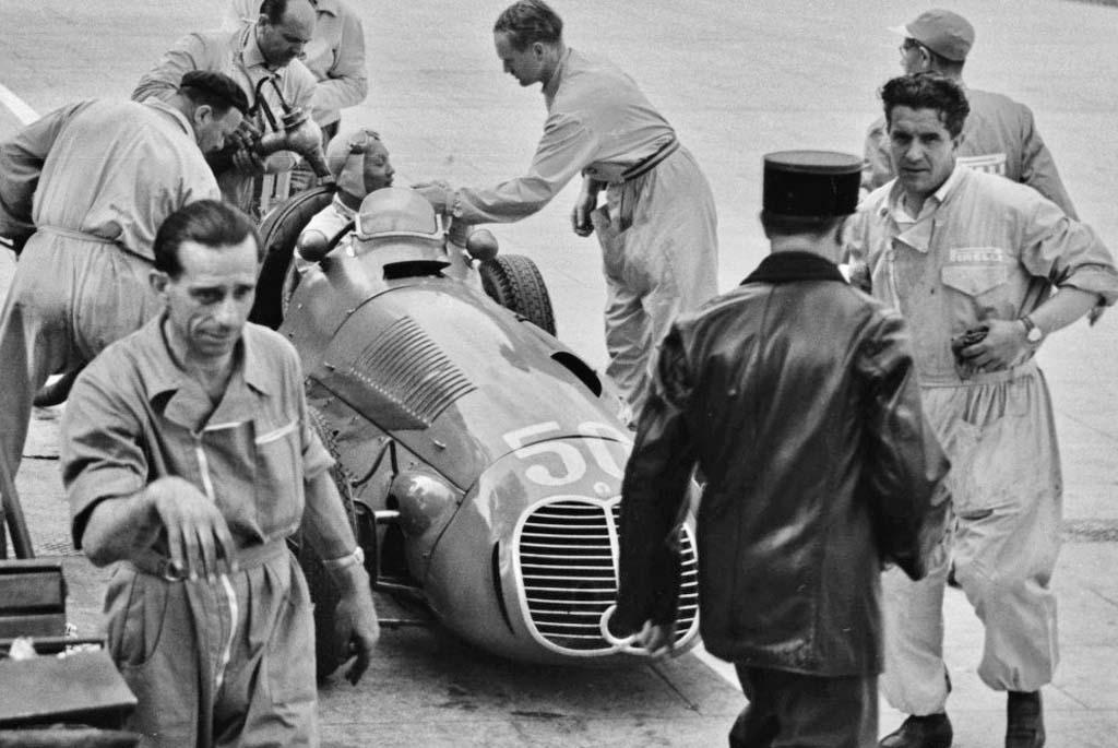 """Принц Бира, """"Мазерати 4CLT/48"""", БП Монако 1950"""