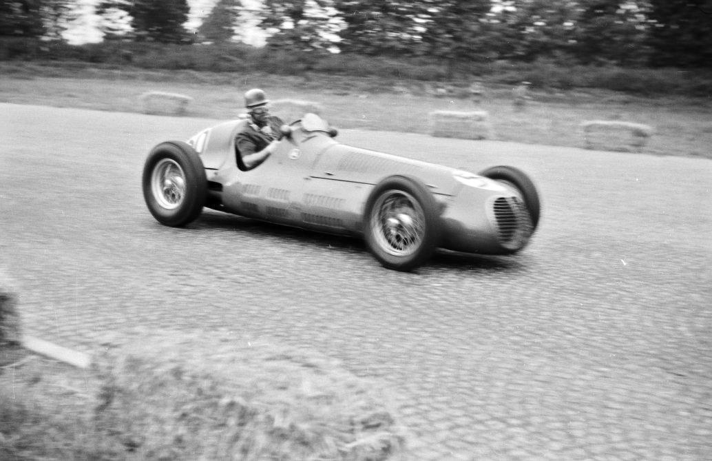 """Дэвид Марри, """"Мазерати 4CL"""", БП Италии 1950"""