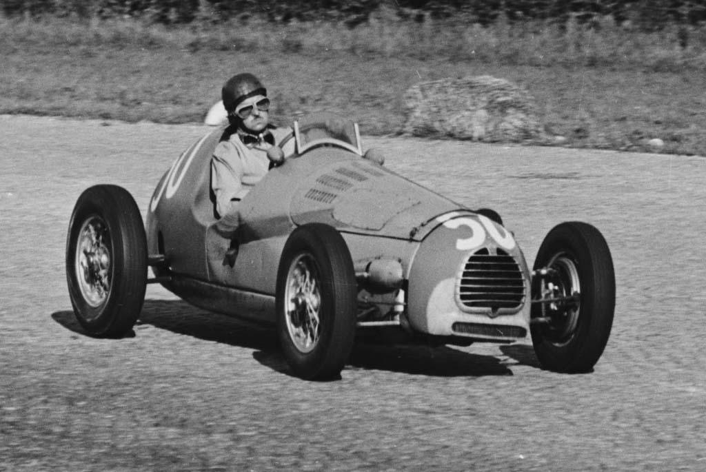 "Морис Тринтиньян, ""Гордини Т16"", БП Италии 1951"