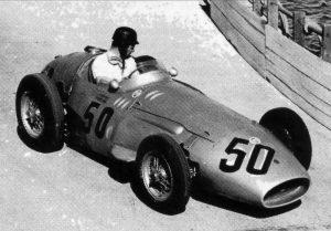 """Кен Кавана, """"Мазерати 250Ф"""", БП Монако 1958"""